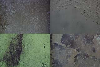 Corroded surface textures